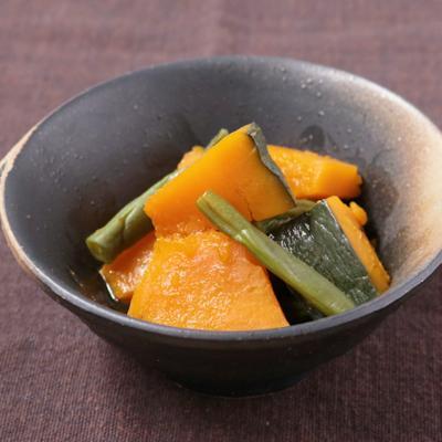 レンジで作る かぼちゃの煮物