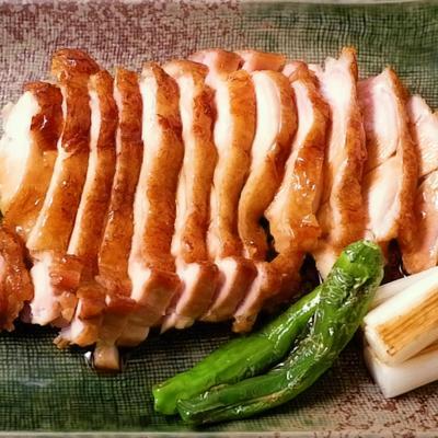 ジューシー 鶏もも肉の蒲焼き