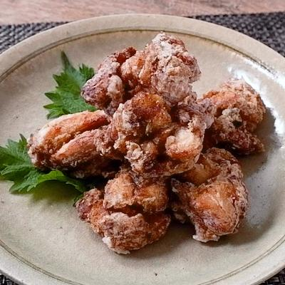 鶏ももの海苔佃煮揚げ