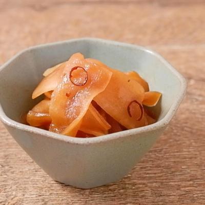 かんぴょうのピリ辛炒り煮