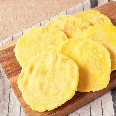 中南米の香ばしコーンパン アレパ