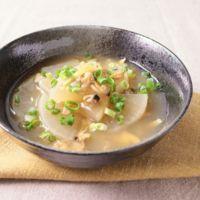 あさりと大根のトロトロスープ煮