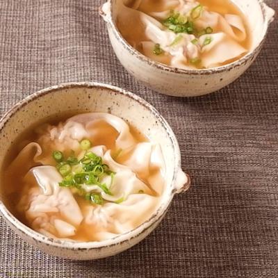 シンプルでおいしい ワンタンスープ
