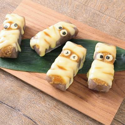 こんにゃくミイラの味噌チーズ田楽