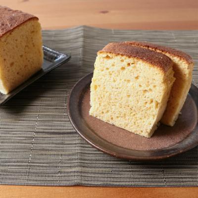 ホットケーキミックスで きな粉と豆乳の和風ケーキ