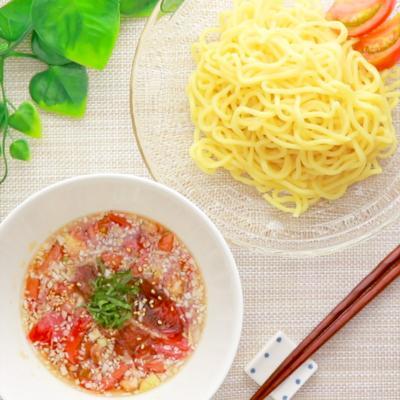 フレッシュトマトのさっぱりつけ麺