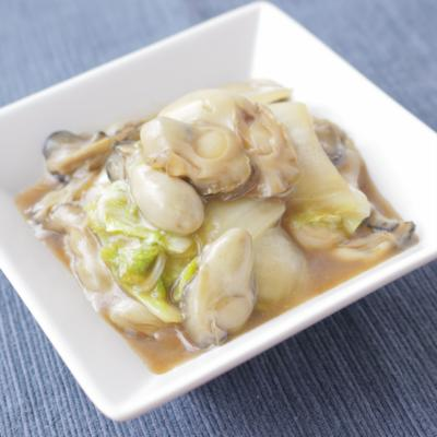 白菜と牡蠣のとろっと中華煮