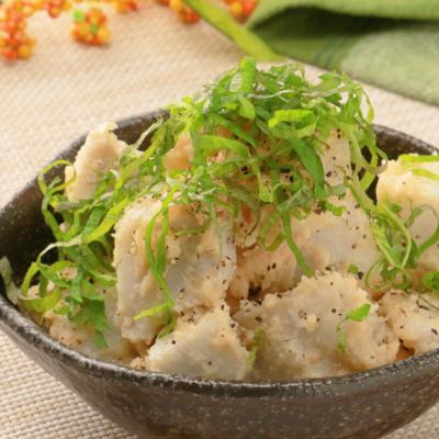 簡単和え物 里芋の明太マヨ和え