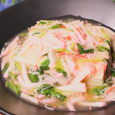 節約レシピ!豆腐のかにかまあんかけ