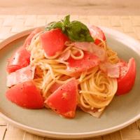 フレッシュトマトのイタリアンカルボナーラ
