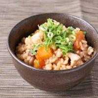 玄米で五目炊き込みご飯