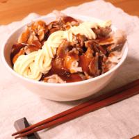 ご飯なのにお好み焼きの味⁉︎肉玉ライス