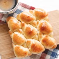 バターロールでかわいい!ちぎりパン