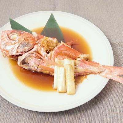 フライパンで簡単に作れる 金目鯛の煮付け