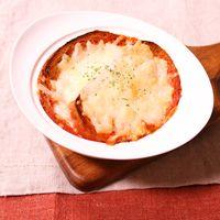 野菜ジュースで!グラタン風スープ