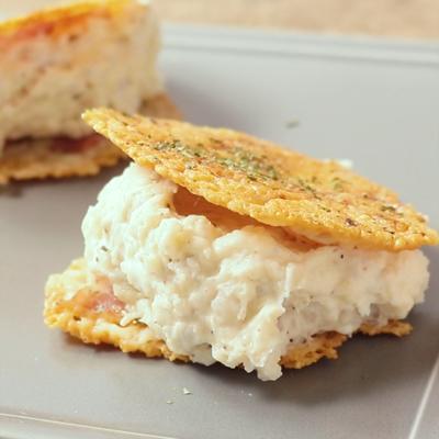 里芋ポテトサラダのチーズ焼き