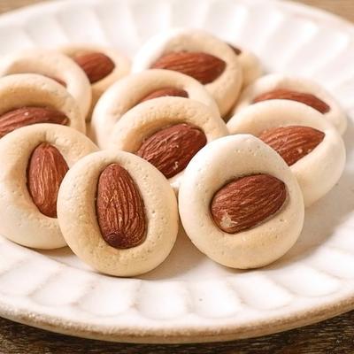 ぷっくりマシュマロクッキー