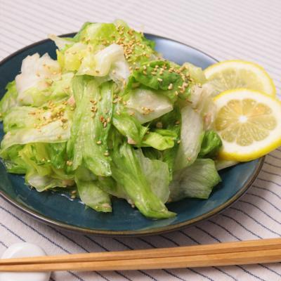 レタス大量消費 中華風しんなり塩レモンサラダ