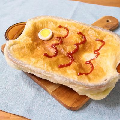こどもが喜ぶ 鯉のぼりのグラタンパイ