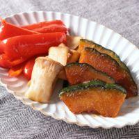 彩り野菜の照り焼き