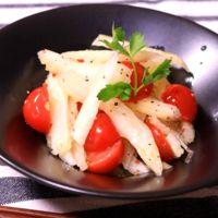 セロリとミニトマトのマリネ風サラダ