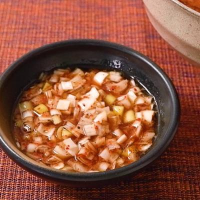 ピリ辛スパイシー豚丼のタレ