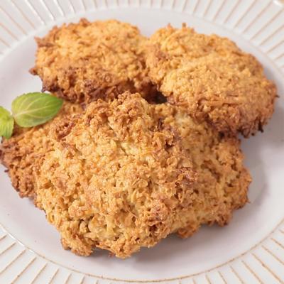 オートミールとココナッツのクッキー