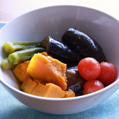 冷やしても美味しい 夏野菜の煮物