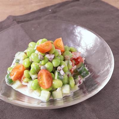 さっぱり 枝豆のヨーグルトサラダ