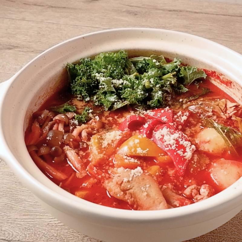 トマト 豆乳 鍋