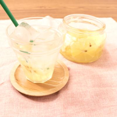 材料3つで 手作りレモンシロップ