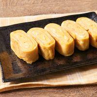 フライパンで作る卵焼き