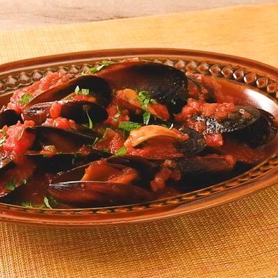ムール貝のトマト煮