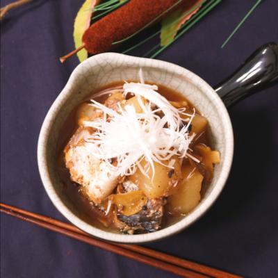 ほっこり和食!サバと大根の煮物