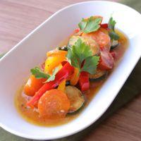 カラフル焼き野菜のマリネ