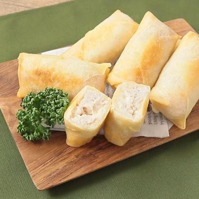 タロイモとチーズの春巻き