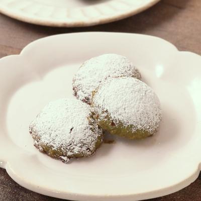 米粉と抹茶のほろほろクッキー