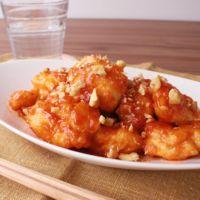 鶏むね肉の激辛チリマヨ炒め
