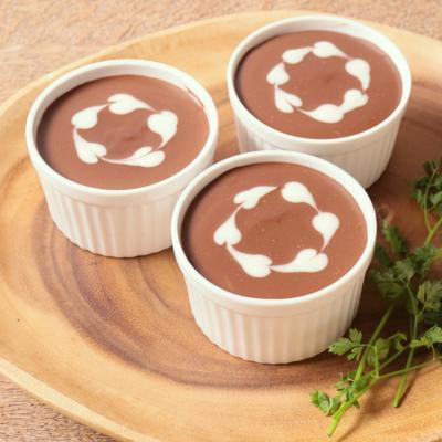 濃厚ハートのチョコレートレアチーズ