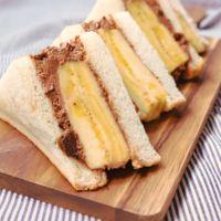 バナナチョコレートクリームサンド