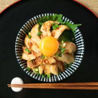 味噌漬けヒラメ丼