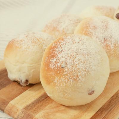 ふわふわ 甘納豆入り酒粕パン