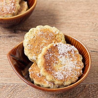 レモンティー フライパンクッキー