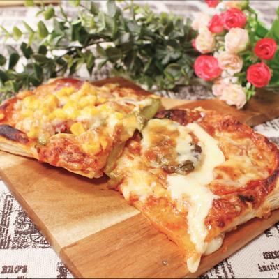 誰でもお手軽簡単!2種のサクサクピザパイ