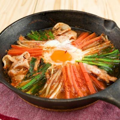 ビビンバ風鍋