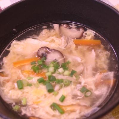 とろみが優しい中華スープ