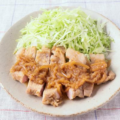 厚切り豚ロースの紅生姜焼き
