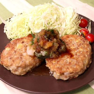 長芋と豆腐のハンバーグ