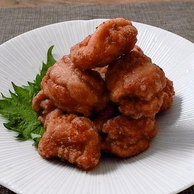 手作り唐揚げ粉で 鶏もも唐揚げ