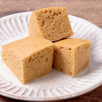 もっちりおいしい きな粉蒸しパン